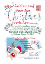 Christmas workshop poster image